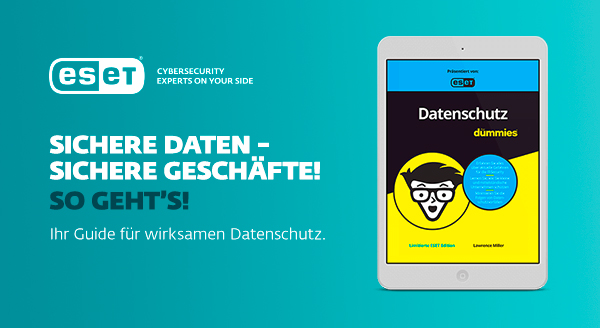 Partnerkampagne Eset Datensicherheit